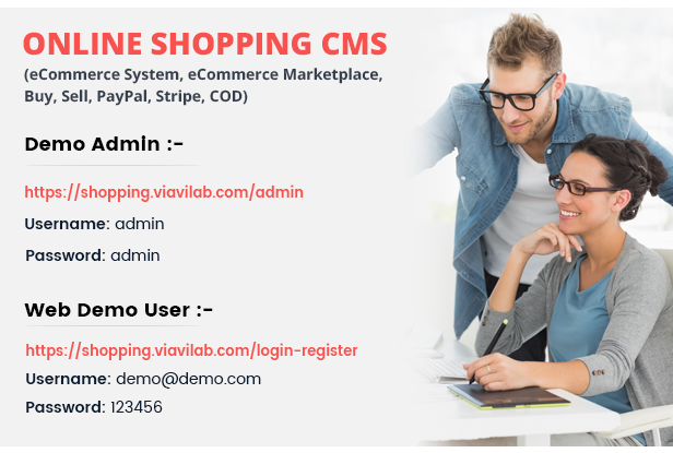 Online Shopping CMS (eCommerce System, eCommerce Marketplace, Buy, Sell, PayPal, Stripe, COD) - 6